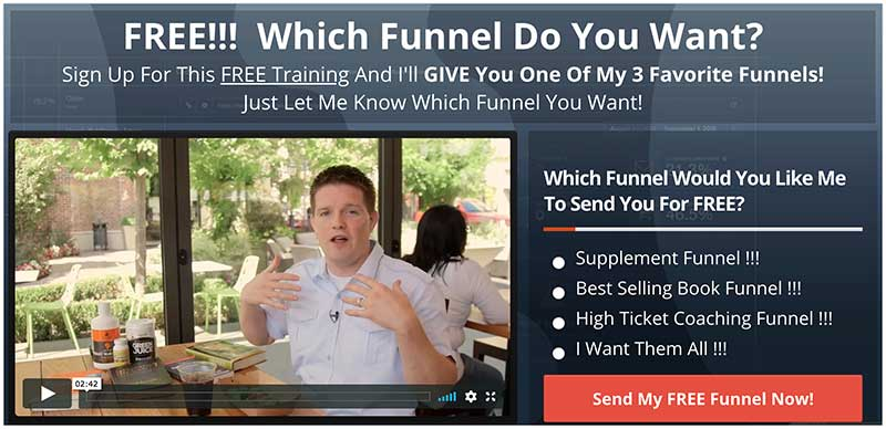 funnel giveaway