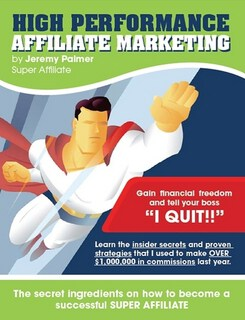 high performance affiliate marketing