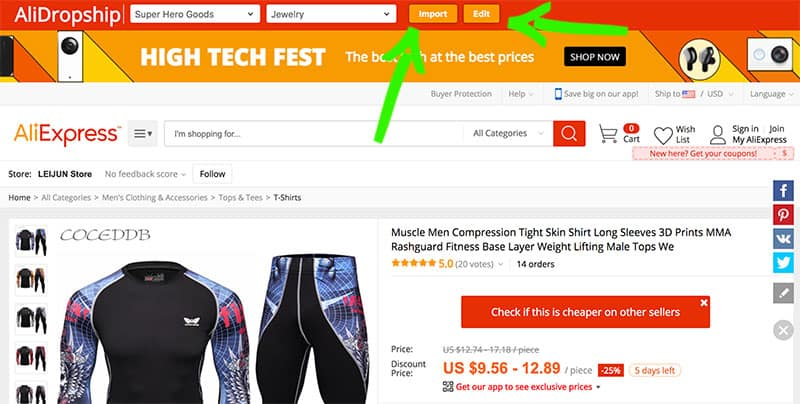 AliDropship vs Oberlo for Dropshipping with AliExpress - Eartha Haines