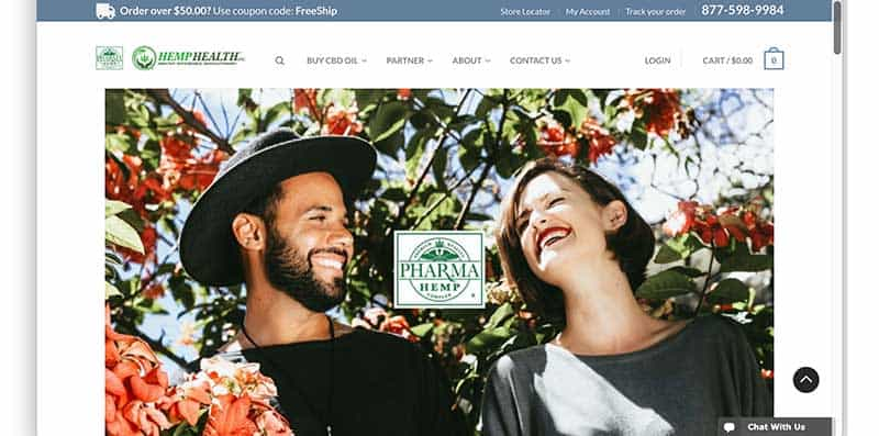 hemp health homepage