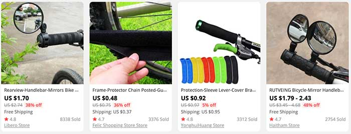 bicycle accessories for sale